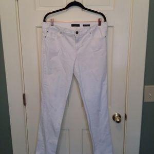 Jessica Simpson Forever Skinny White Jeans